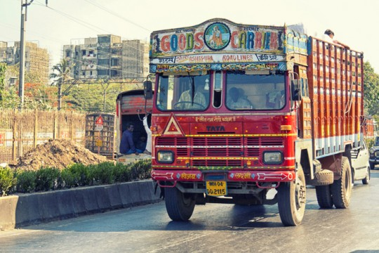 Decorated truck 1, Mumbai