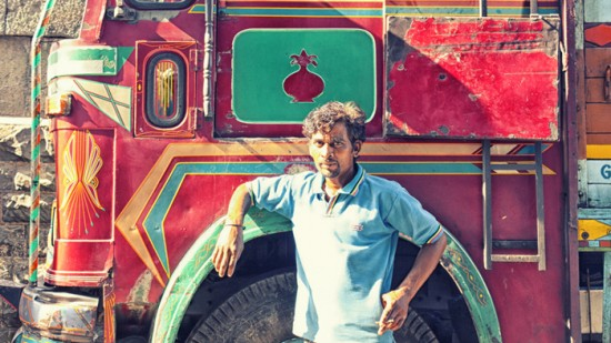 Helper with his truck, Mumbai