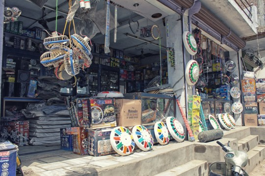Shops selling truck decoration materials